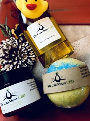 Pamper Me CBD Gift Package