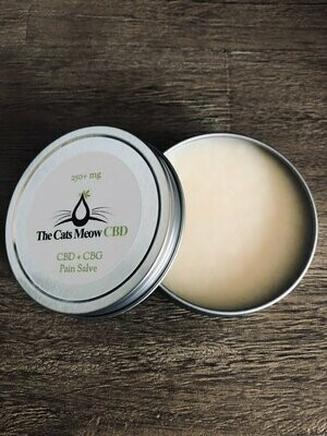 CBD + CBG Pain Salve (250 mg)