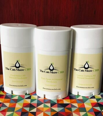 CLEARANCE Cool Melon EXTRA STRENGTH CBD Deodorant