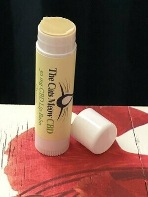 CBD Coconut Lip Balm