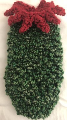 Handmade Cat/Small Dog Sweater - Size Small