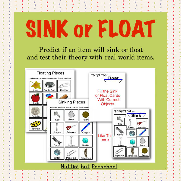 Things That Float and Things That Don't – Sink or Float Science Center 00027