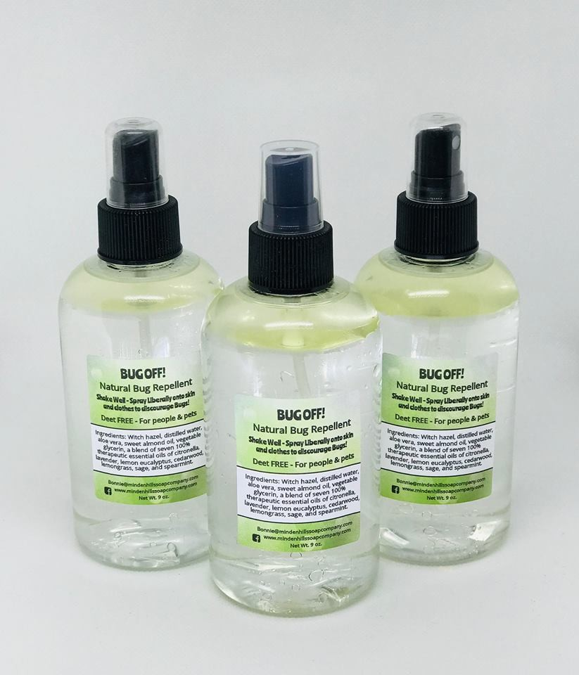 Natural Bug Repellent for People & Pets