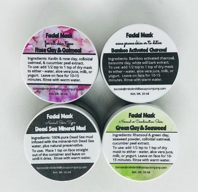 Natural Facial Mask Concentrates
