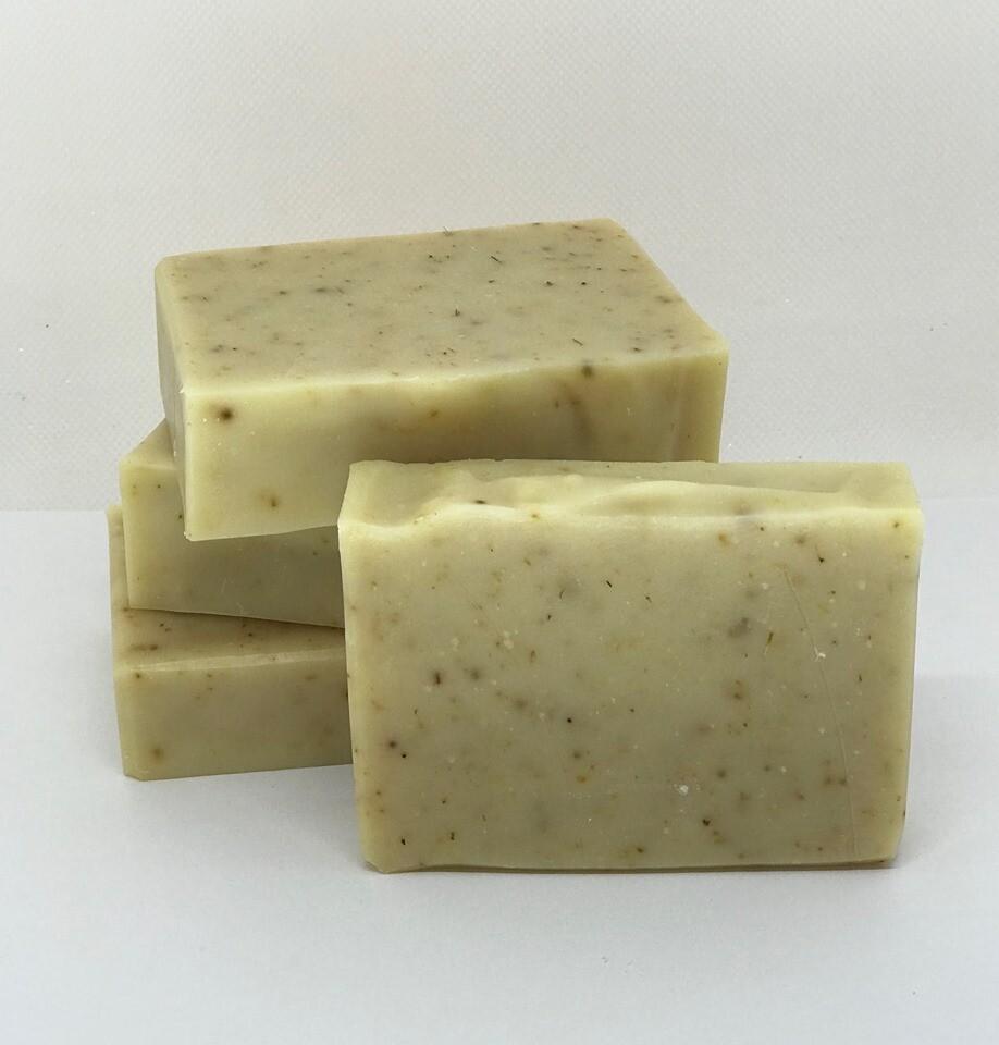 Lavender Obsession Goat's Milk Soap - All Natural Exfoliating