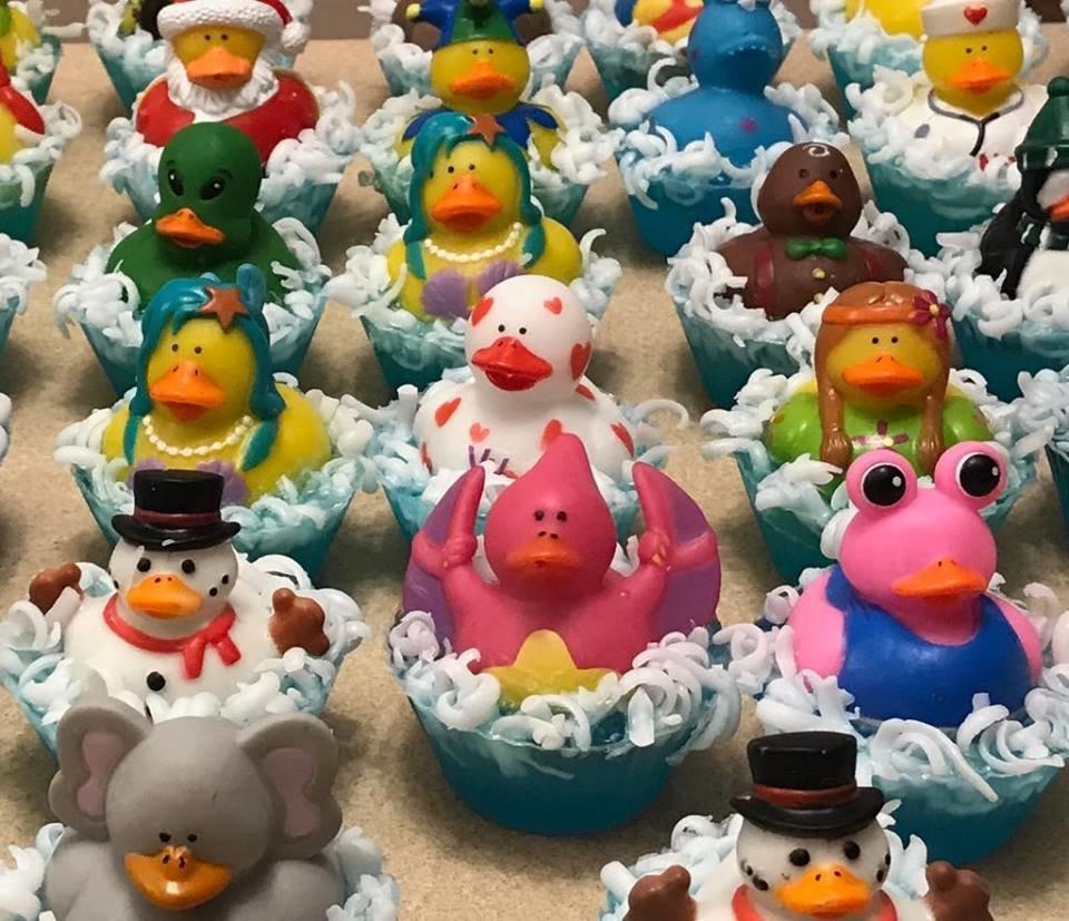 Rubber Ducky Bath Buddy