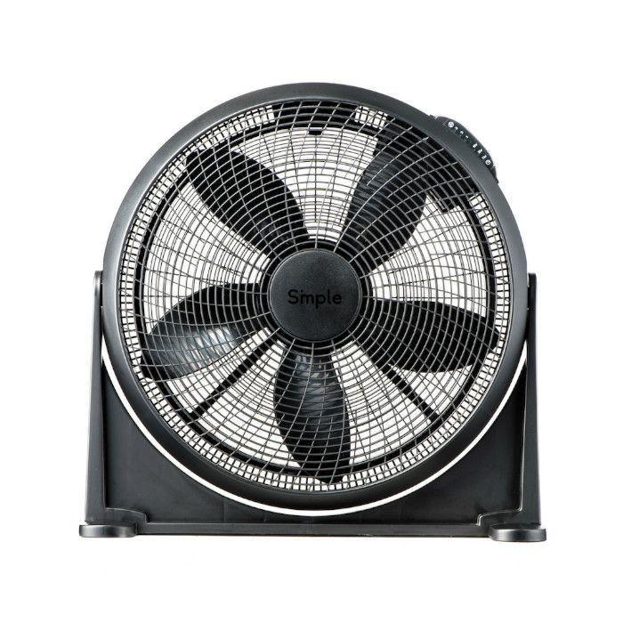 """Smple 20"""" MAX 20 Black Air Circulator"""
