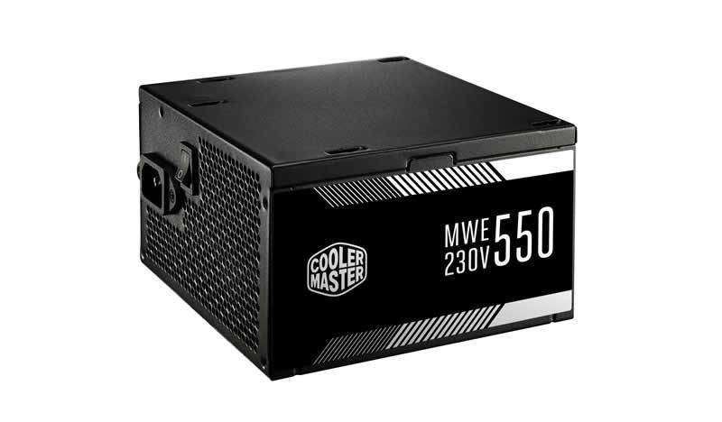 Cooler Master Power Supply MWE 550  MPW-5502-ACABW-UK