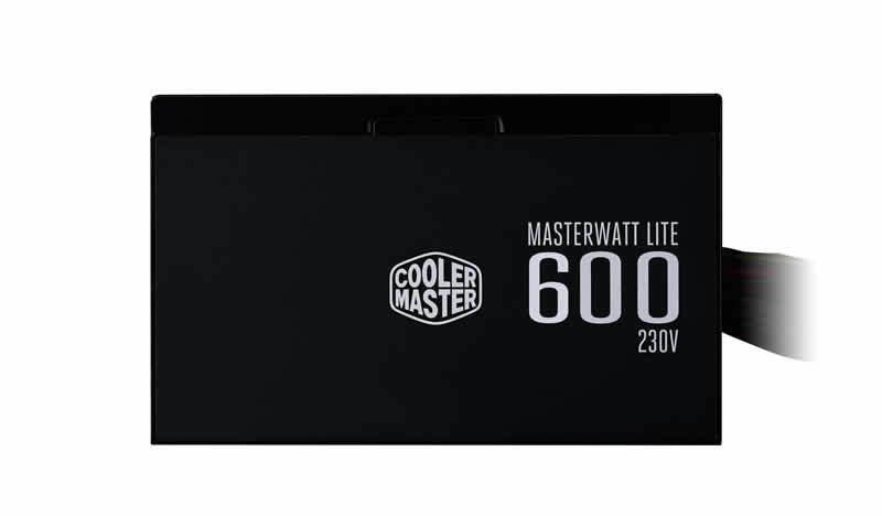 Cooler Master Power Supply MasterWatt Lite 600 MPX-6001-ACABW-KS