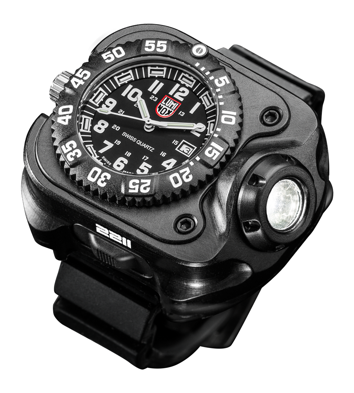 Surefire 2211 Luminox Wristlight  Rechargeable Variable-Output LED WristLight + Watch 2211-B-BK-LMX (PRE ORDER)
