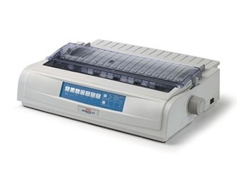 OKI 9 Pin Dot Matrix Printer ML721 Plus (c/w Power Cord & USB Cable)