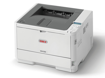 OKI Mono Printer B432dn (c/w Power Cord & USB Cable)