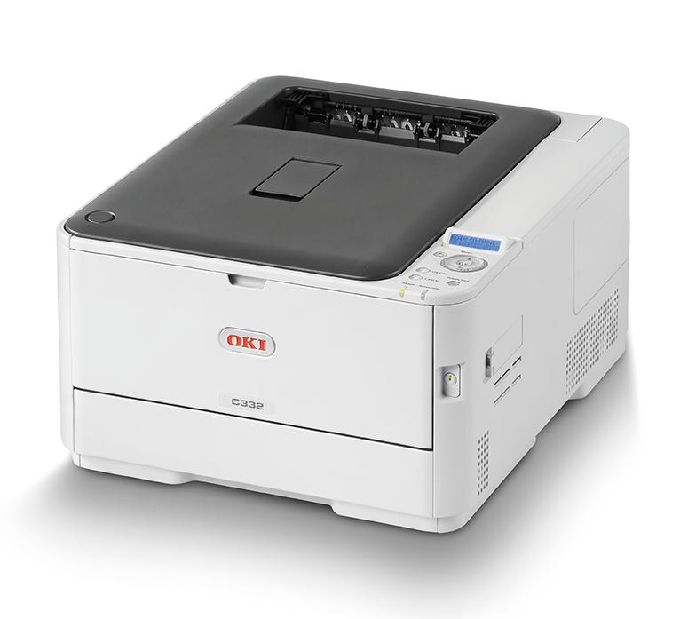 OKI Colour Printer C332dn (c/w Power Cord)