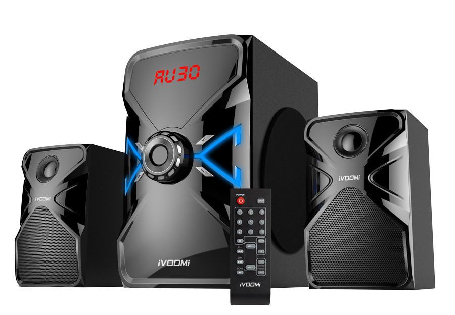 iVoomi Apollo Series 2.1 Speaker IVO-2167-SUF-BT (USB/SD/FM/BT/Remote Control)