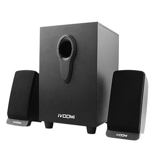 iVoomi 2.1 Speaker IVO-2101-SUFT-BT ( USB/ SD/ BT/ FM AUX)