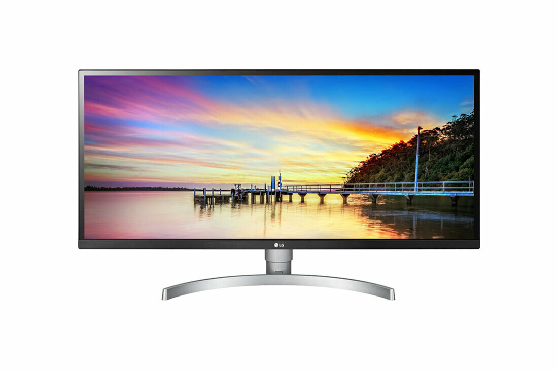 "LG 34"" 21:9 UltraWide® Full HD IPS Monitor With HDR 10 34WK650-W"