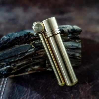 Douglass Field L Lighter, Brass