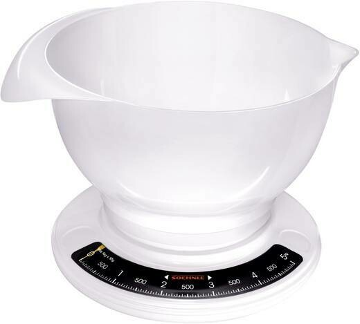 Soehnle Culina Pro Analog Kitchen Scale With Bowl 65054