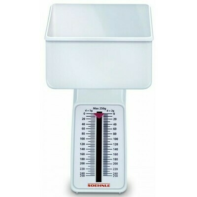 Soehnle Combi White Analog Kitchen Scale 65601