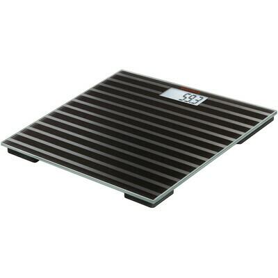 Soehnle Maya Black Stripes Digital Bathroom Scale 63357