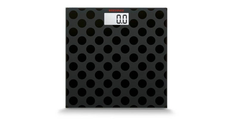 Soehnle Maya Black Dots Personal Digital Scale 63358