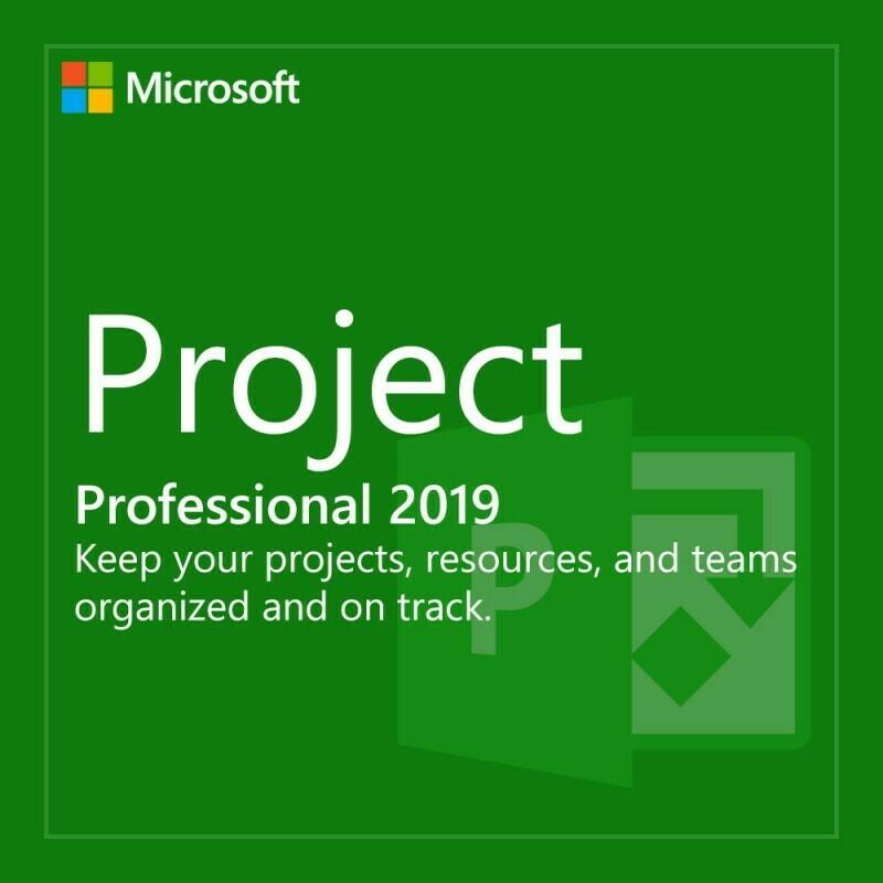Microsoft Project Professinoal 2019 H30-05756