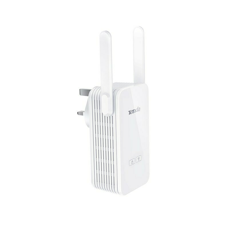 Tenda AV1000 2-Port Gigabit Wi-Fi Powerline Extender PA6
