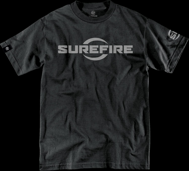 SureFire T-shirt Logo Black