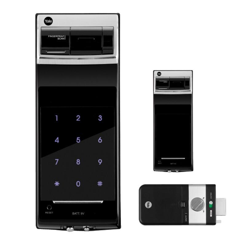 YDR 4110 Yale Digital Rim Lock (Fingerprint)