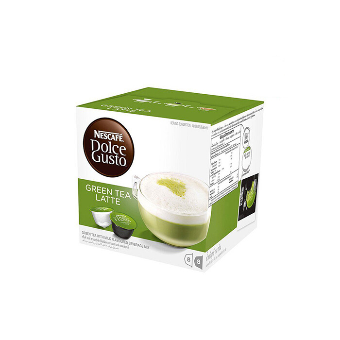 Nescafe Dolce Gusto Green Tea Latte 16 Capsules Per Box