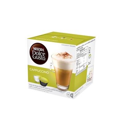 Nescafe Dolce Gusto Cappuccino Coffee 16 Capsules Per Box