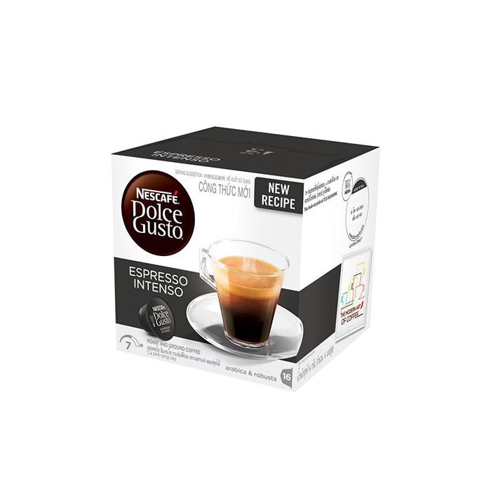Nescafe Dolce Gusto Espresso Intenso Coffee 16 Capsules Per Box