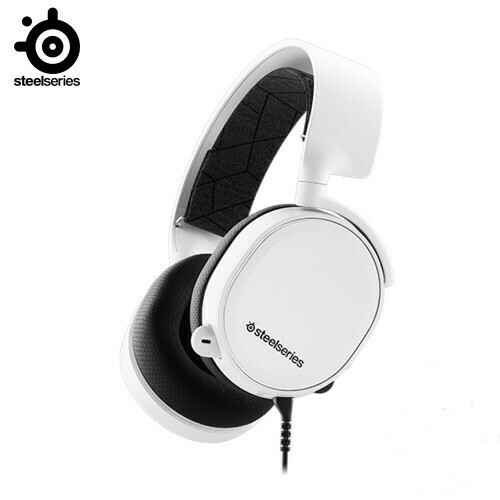 SteelSeries Arctis 3 (2019 Edition) Gaming Headset White 61506
