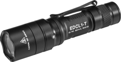 Surefire EDCL1-T Dual-Output Everyday Carry LED Flashlight (500 Lumens)