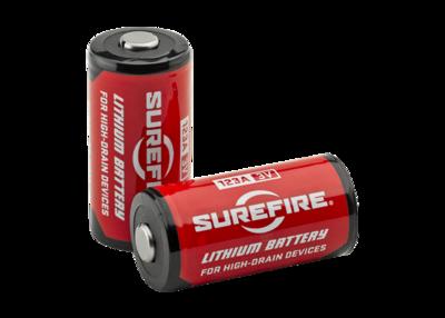 Surefire SF123A Lithium Battery (per pc)