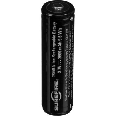 Surefire 18650 Protected Lithium Ion Battery 2.6Ah