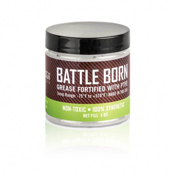 Breakthrough Clean Battle Born Grease Fortifield With PTFE 4oz Jar BTG-4OZ