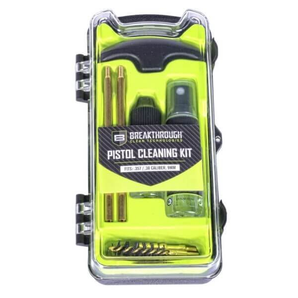 Breakthrough Clean Vision Series Pistol Cleaning Kit – .357 Cal / .38 Cal / and 9mm BT-ECC-9