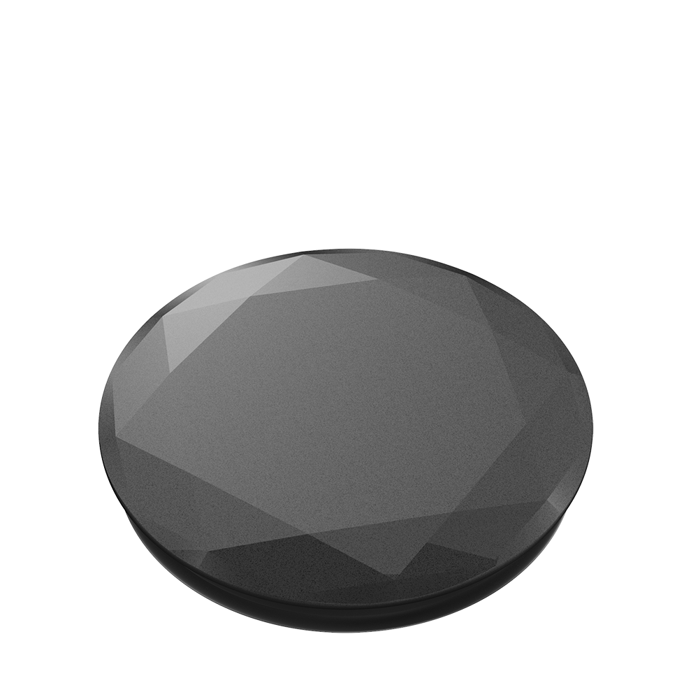 Popsocket Black Metallic Diamond
