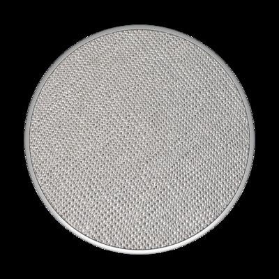 Popsocket Saffiano Silver