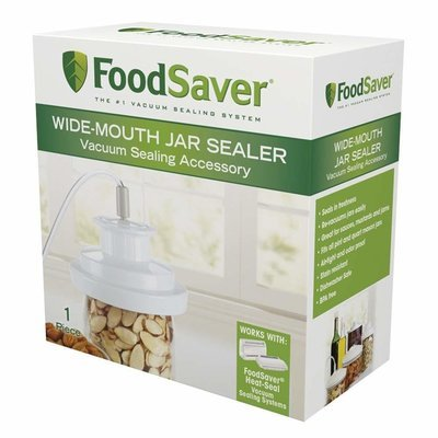 FoodSaver Wide-Mouth Jar Sealer