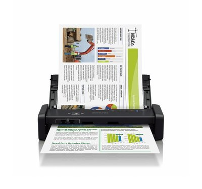 Epson WorkForce DS-360W Wi-Fi Portable Sheet-fed Document Scanner