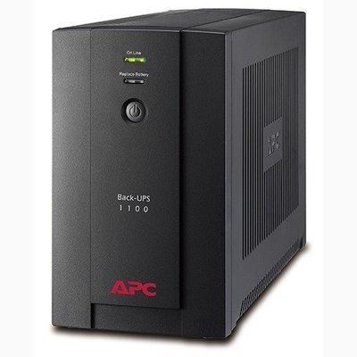 APC Back-UPS 1100VA, 230V, AVR, Universal and IEC Sockets BX1100LI-MS