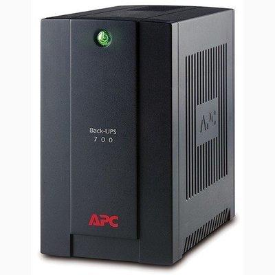 APC Back-UPS 700VA, 230V, AVR, Universal and IEC Sockets BX700U-MS