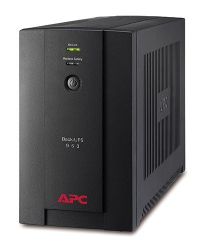APC Back-UPS 950VA, 230V, AVR, Universal and IEC Sockets BX950U-MS