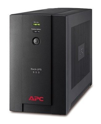 APC Back-UPS 950VA, 230V, AVR, Universal and IEC Sockets BX950U-MS