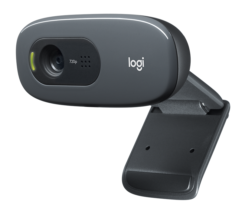 Logitech HD Webcam C270 + Mono Headset