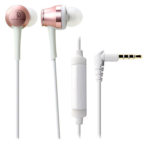 Audio Technica In-Ear Headphones For Smartphone ATH-CKR70iS