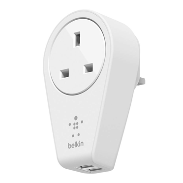 Belkin BOOST↑UP 2-Port Swivel Charger + Outlet F8M102sa