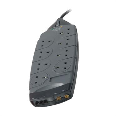 Belkin Gold Series 8-Socket Surge Protector F9G823sa4M-GRY
